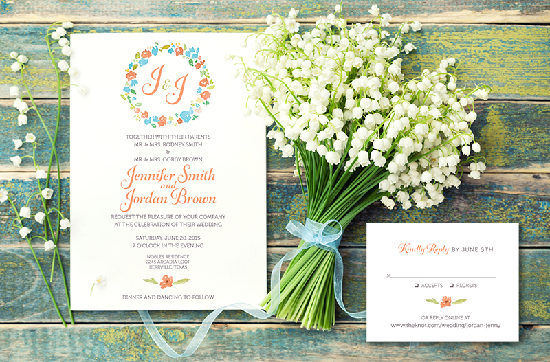 Wedding Invitations // Design & Printing // Abilene, Texas