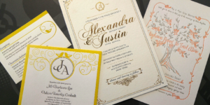 Letterpress Invitations // Abilene, Texas